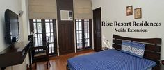 Rise Resort Residences Noida are creating the historical apartments to Greater Noida West. It summarizes the apartments cum villas of 3BHK and 4BHK options. It is costing around 1.5 Cr for starting price with basic amenities.