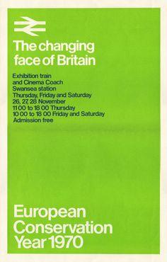 British Rail Poster