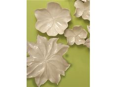 Shop for Global Views Magnolia Platter-Ivory-Large, 3.30589, and other Accessories at Saxon-Clark Interiors in Altamonte Springs, FL. The addition of this wall decor instantly brightens any area. Thanks to an adaptable design and great looks, this piece is a versatile inclusion.