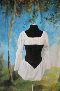Hey, I found this really awesome Etsy listing at http://www.etsy.com/listing/83616764/sale-black-renaissance-corset-basic
