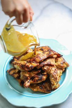 maple mustard chicken thighs maple mustard chicken thighs from our ...