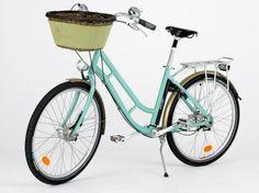 Bycicle at Le Meurice, Paris in 'Designer Hotel Bikes' article via @Connie Hamon Talkmitt Durené Nast Traveler