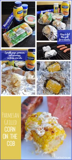 Frozen Corn Cobs Transformed into Easy Parmesan Grilled Corn on the Cob