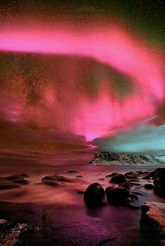 Aurora borealis....
