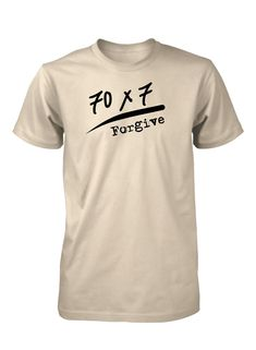 Forgive 70 times 7 Love Christian T-shirt for Men