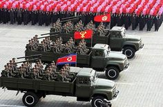 ANGRY NORTH KOREAN SOLDIERS | north korea is famous for its angry threats towards south korea and ...