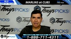 Miami Marlins vs. Chicago Cubs Free MLB Baseball Picks and Predictions 6...