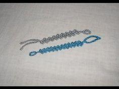Braccialetto a Zig Zag Uncinetto crochet bracelet ganchillo pulsera - YouTube