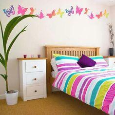 Schauen Sie Sich Diese Coole Ideen Für Wandtattoo Design An Und Gestalten  Sie Die Dekoration In Ihrem Schlafzimmer Ganz Ungewöhnlich. Die Verwandlung  Der