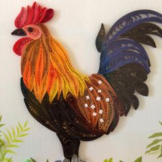 quilling rooster - Google keresés