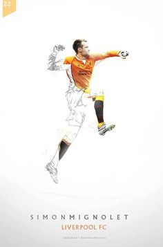 6f704f515  LFC  artwork Simon Mignolet Liverpool Football Club