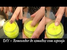 Como Fazer esmalte com restos de maquiagem / How To: nail enamel with old makeup - YouTube