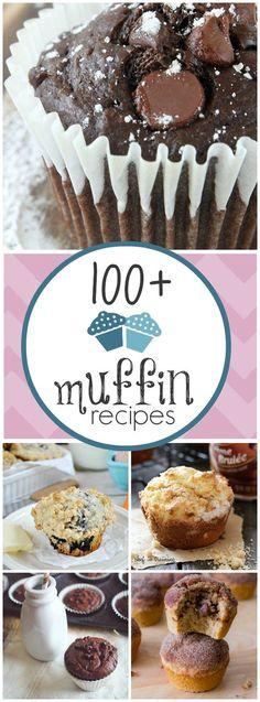 Más de 100 recetas de Muffins!