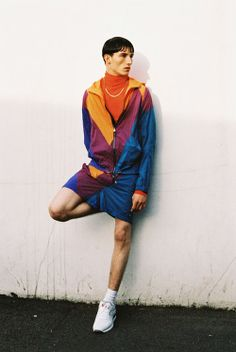 Kim Jones gets it right again with his resort pre-collection for Louis Vuitton. The king of sartorial sportswear, we're particularly loving the references to the football casuals of the early 90s - photographed here byJeff Hahn for Used Magazine.