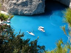 Navagio Beach, or Shipwreck Beach, can be found on the Northwest side of Zakynthos Island, which is in turn off the West coast of Greece.