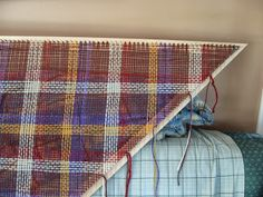 How to build a tri loom for shawls.