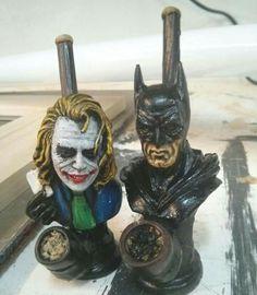 Batman and Joker pipes