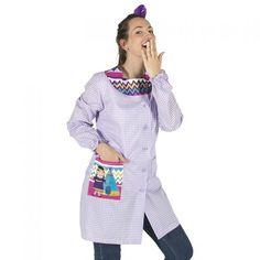 5961 Bata India Gary's #uniformesgarys #uniformescolegial #uniformesprofesora #batasprofesora #batascolegio #ropamaestra #regalosprofesora #educacionprimaria #educacioninfantil