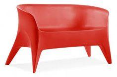 Obie Love-Seat in Red