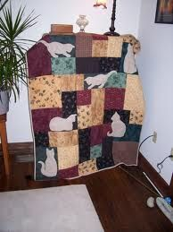 cat quilts A friend wants me to make a cat quilt for her ...