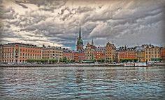 Old Town Stockholm by Hanny Heim #stockholm