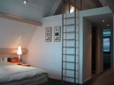 4 Smooth Tips AND Tricks: Garage Attic Stairs attic modern scandinavian style.Unfinished Attic Tips tiny attic natural light.Old Attic Pictures. Attic Bedroom Small, Attic Loft, Attic Bathroom, Attic Rooms, Attic Spaces, Garage Attic, Bathroom Marble, Attic Ladder, Attic House