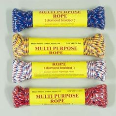 Multi Purpose Braided Rope Case Pack 48