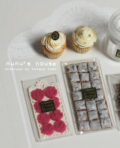 *ローズチョコとキャニスター* - *Nunu's HouseのミニチュアBlog* 1/12サイズのミニチュアの食べ物、雑貨などの制作blogです。