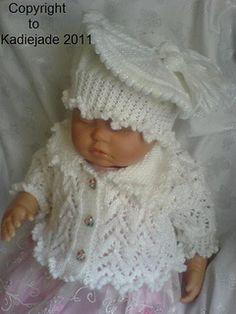 Ravelry: kadiejade knitting pattern No 67 pattern by Kadie Jade Diy Crafts Knitting, Knitting For Kids, Baby Knitting Patterns, Knitting Designs, Baby Patterns, Double Knitting, Knitting Yarn, Free Knitting, Baby Cardigan