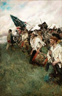 Howard Pyle, Continental Army, Oil On Canvas, Canvas Prints, Most Famous Paintings, American Revolution, Oil Painting Reproductions, Framed Wall Art, Poster Size Prints