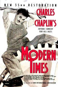 "Charlie Chaplin - ""Modern times"""