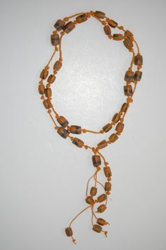 African Trade Bead Necklace by tzdesignz on Etsy