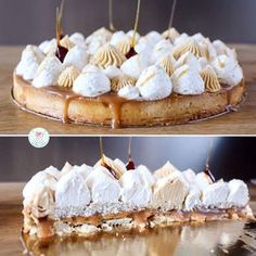 My vanilla tart, hazelnut, salted butter caramel – Les Délices de Oumi Easy No Bake Cookies, Easy Cookie Recipes, Tart Recipes, Cheesecake Recipes, No Bake Cake, Sweet Recipes, Köstliche Desserts, Holiday Desserts, Delicious Desserts