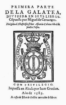 Las dimensiones del laberinto: La Galatea. Miguel de Cervantes