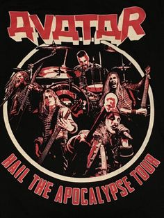 Heavy Metal Rock, Heavy Metal Music, Hard Rock, Johannes 3, Avatar, Cinema, Welcome To The Jungle, Concert Shirts, Band Posters