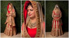 Indian Bridal Diaries...!!  The Indian wedding's are all about beautiful clothes, loads of jewellery and celebration. The traditional rasams are simply never ending. Indian Bridal wears are oozing with grandeur and elegance. Be one of the most gorgeous royal bride of this season wearing this Red Bridal Lehenga and steal the look. There is something magical about the Design and Craftsmanship put into making this attire perfect for the Big Fat Indian Wedding. #BigFatIndianWedding