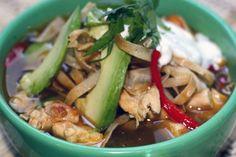 Slow Cooker Chicken Fajita Tortilla Soup #slowcooker #chickenfajitasoup #chickentortillasoup