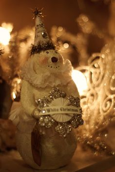 Vintage Christmas  snowmen