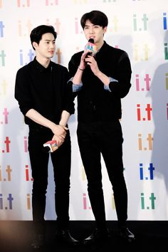 Suho & Sehun - EXO's leader and Maknae