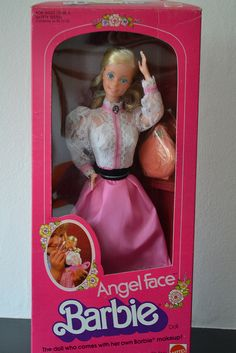 Angel Face Barbie 1982 I had her! I had to promise not to use the makeup on me, though!