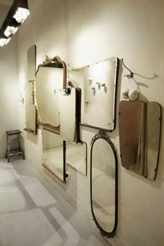 images about Vintage Frameless Mirrors on Pinterest  Vintage mirrors ...
