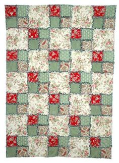 Easy Rag Quilt Pattern - © Janet Wickell