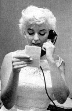 Marilyn Monroe during her visit Bement, Illinois. Photo by Eve Arnold, 1955.