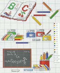 Cross Stitch Kitchen, Mini Cross Stitch, Cross Stitch Alphabet Patterns, Kids Rugs, Embroidery, Holiday Decor, Handmade, K2, Professor