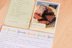Inspirationsgalerie Project Life Werkstatt- Scrapbook Werkatt - Project Life für Rezepte nutzen von Nikki