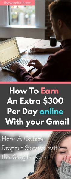Earn Money Online Fast - Start working from home. Learn how to earn online within 24 hours. See how a college dropout make money with this simple system. This post may contain affiliate links. Make money fast, work at home. Email processing System. Part time job, online job - If you want to enjoy the Good Life: Making money in the comfort of your own home writing online, then this is for YOU!