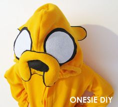I was asked for a tutorial on the Jake onseie pj's  I made for my daughter a while back. I don't really have enough pictures to do a ful...
