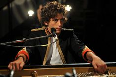Mika at Abbey Road studios 2009