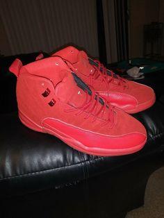 5f44be567233e7 Nike Air Jordan Retro XII 12 GYM RED 2018 Size 11. Hot Shot Shoes