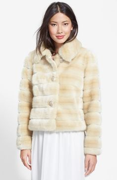 Free shipping and returns on Eliza J Faux Fur Jacket at Nordstrom.com. Rhinestone-studded buttons underscore the retro-glam styling of a fuzzy faux-fur coat updated in a short, boxy silhouette.